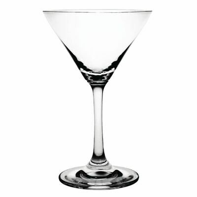 6x Olympia Crystal Martini Glasses 145ml 5oz Cocktail Drinking Flutes Tumblers