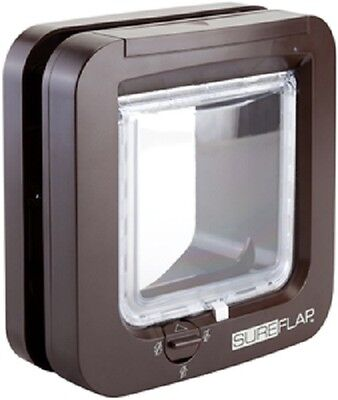 Sureflap Microchip Cat Flap - Brown, Premium Service, Fast Free Dispatch