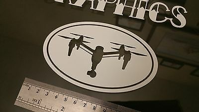 Inspire 1 Oval DRONE Sticker Decal, DJI Phantom RC FPV Case