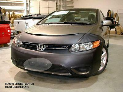 Lebra Front End Mask Cover Bra Fits 2006 2007 2008 HONDA CIVIC Coupe 2 Door