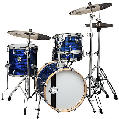Ddrums SE Bop Kit Blue Pearl 4-Piece Shell Kit Drum Set New ~ Makes a Great Gift