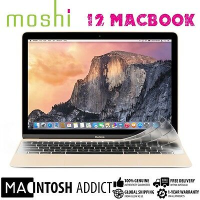 """Moshi ClearGuard Ultra-Thin Transparent Keyboard Protector For New 12"""" MacBook"""