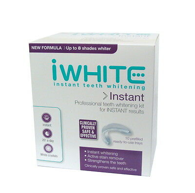 iWhite Instant Professional Teeth Whitening Kit 10 Trays Ready to Use