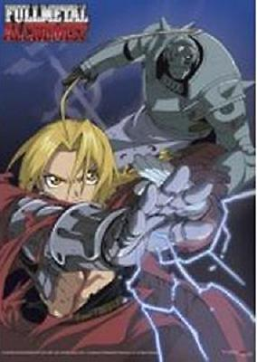 *NEW* Fullmetal Alchemist: Ed & Al Fabric Poster by GE Animation