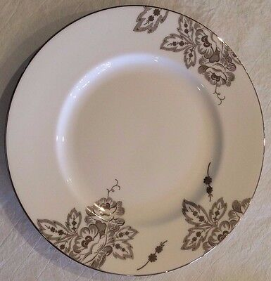 L by LENOX FLORAL WALTZ FINE BONE CHINA DINNER PLATE - new with tags