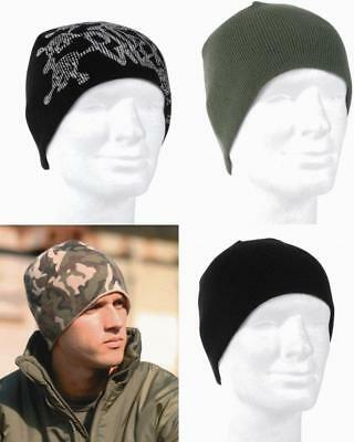 MIL-TEC beanie army watch hat for warmth comfort and fit  colours