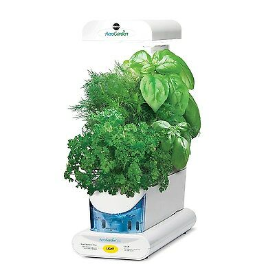 Miracle-Gro AeroGarden 3SL with Gourmet Herb Seed Kit White White