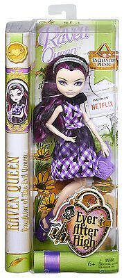 Ever After High Bambola RAVEN QUEEN 30cm PICNIC INCANTATO by Mattel CLD84