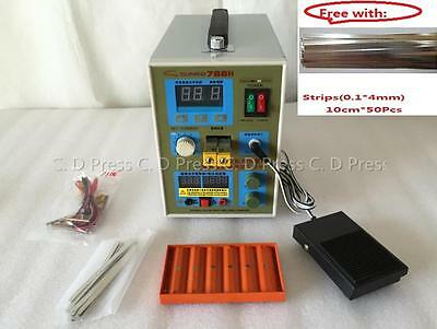 New 18650 Battery Charger 800 A 0.1 - 0.2 mm 36V 60A 788H Spot Welder