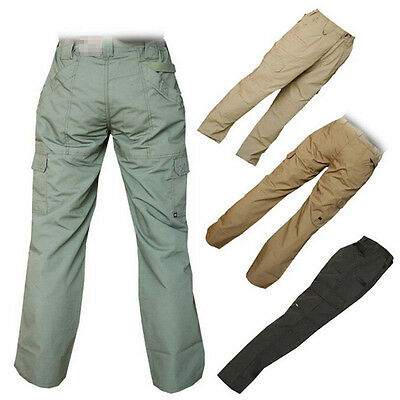 Army Tactical Camouflage hunting Cargo Pants Trousers Multi Pocket for bowhunt