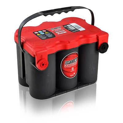 50Ah 12V US-Cars AGM-Batterie VRLA Optima RedTop RT F 4,2