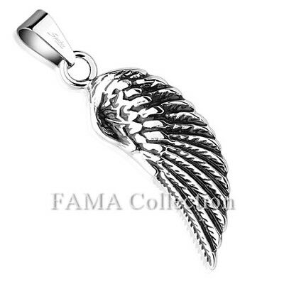 Top Quality FAMA Angel Wing Stainless Steel Pendant