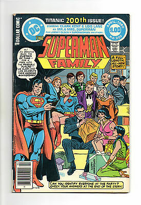 Superman Family Vol 1 No 200 Apr 1980 (VFN-)68 Page Dollar Comic,All New Stories