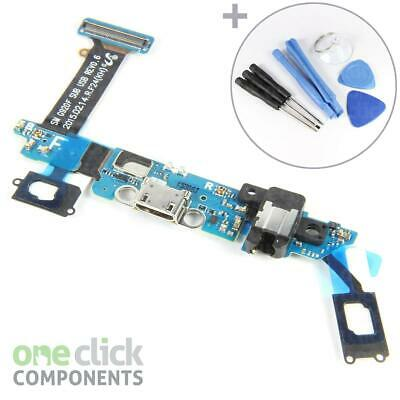 Samsung Galaxy S6 G920F Micro USB Charging Port Headphone Flex Board + TOOLS
