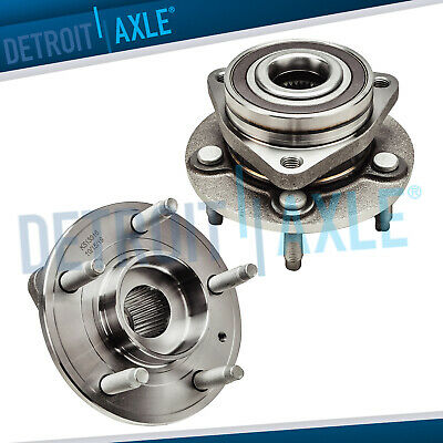 Both (2) New Front Wheel Hub and Bearing Assembly Chevy Cruze Volt Buick Verano
