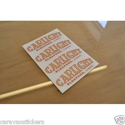CARLIGHT Crescent - (FLAT VINYL/RESIN DOMED) - Sticker Decal Graphic - SINGLE