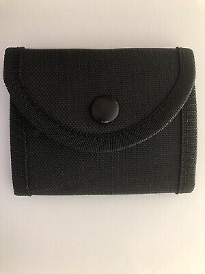 Glove pouch case nylon black tactical duty belt