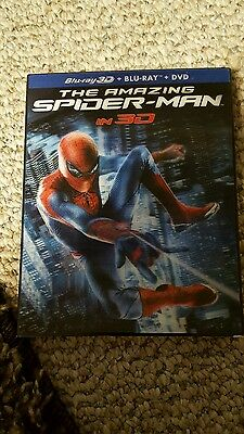 the amazing spider man blu ray dvd 2012 3 disc set html