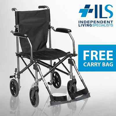 Drive Travel Lite Portable Wheelchair + Carry Bag *BRAND NEW*