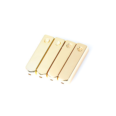 4PCS 2Pairs GOLD/SILVER/GUNMETAL Yeezy Metal Aglets For Shoes