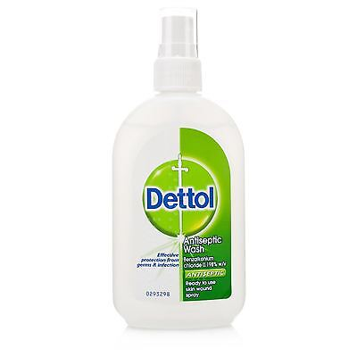 Dettol Antiseptic Wash Spray - 100ml