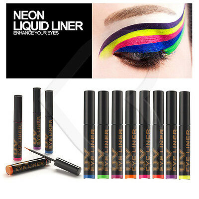 Stargazer UV Reactive Glow Neon Liquid Eye Liner Choose Shade Rave Festival
