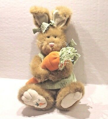 Boyd's T.J.'s Best Dressed Miracle Gardenglow Plush Bunny Rabbit w/ Carrot NEW