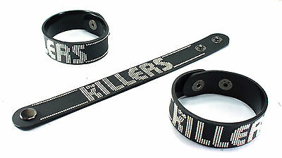 THE KILLERS NEW! Rubber Bracelet Wristband Free Shipping Battle Born  vr166