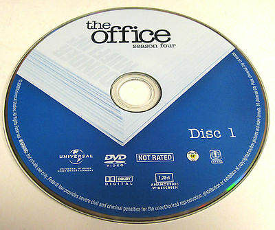 The Office Season 4 DVD Replacement Disc 1 Only