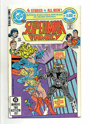Superman Family Vol 1 No 220 Jul 1982 (VFN)52 Page Dollar Comic,All New Stories