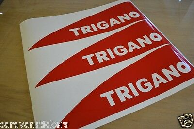 TRIGANO Tribute Motorhome Top Name Flash Stickers Decals Graphics - SET OF