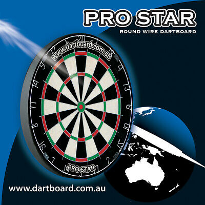 Bristle Official WINMAX Classic Australia Dart Board Man Cave Bar Game Room Gift