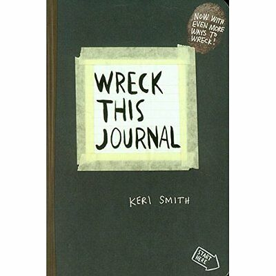 Wreck This Journal Keri Smith Humour Penguin Books Ltd PB / 9780141976143