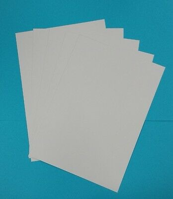 50 x A4 SILK COATED 350GSM CRAFT CARD- IDEAL FOR DECOUPAGE