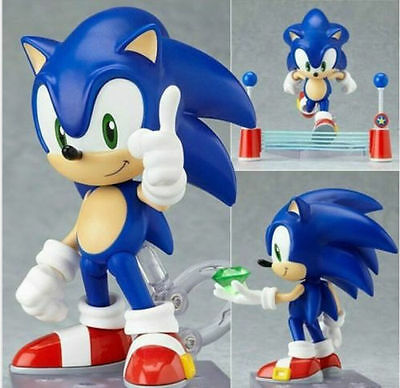"4"" Nendoroid Series Sonic the Hedgehog PVC Figure 214 new in box"