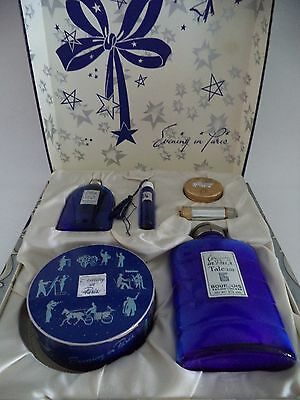 Vintage 1940's Set Of Evening In Paris Perfume Talc 6 Items Orig  Box