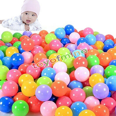 400 Ocean Balls Swim Fun Colorful Soft Plastic Quality Secure Baby Kid Pit Toys