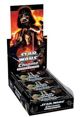 2 x Star Wars Chrome Perspectives 2015 Jedi / Sith: Jedi + Sith Box (Hobby) OVP