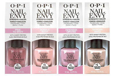 OPI NAIL POLISH Nail Envy Strengther + Color - You choose which color/s