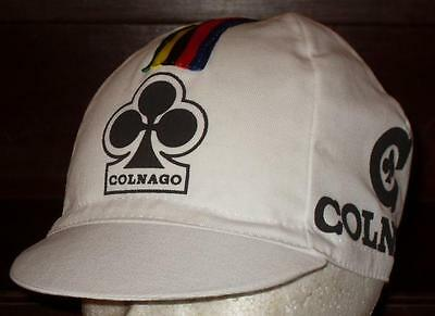 Brand new classic Colnago Cycling cap, Italian made Retro fixie.
