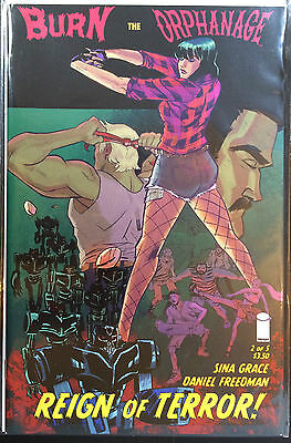 Burn the Orphanage Reign of Terror #2 Cover A NM- 1st Print Image Comics