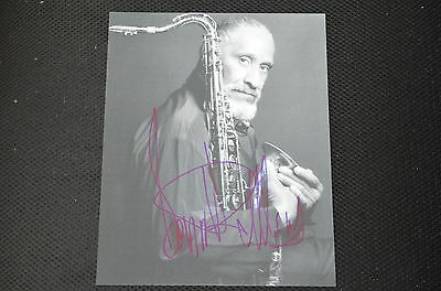 SONNY ROLLINS  signed Autogramm 20x25 cm In Person