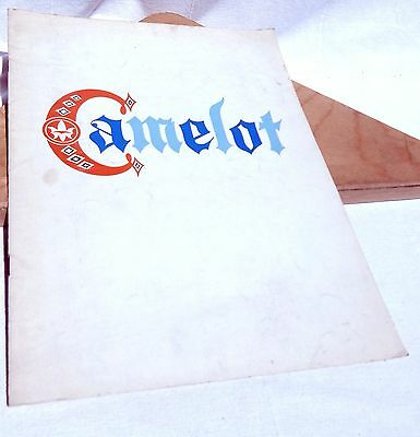 Camelot Musical Program1964 Kathryn Grayson Louis Hayward Arthur Treacher