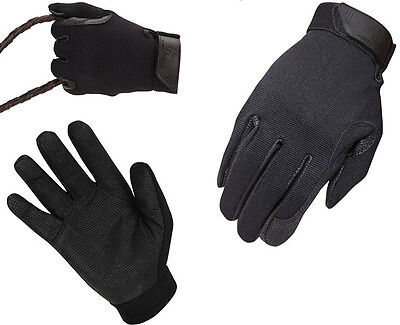 Men's Heritage Tackified Performance Horse Riding Gloves Size US 10 Large / EU 8