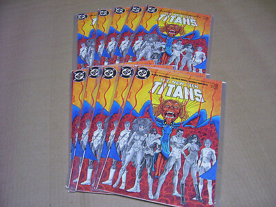 The New Teen Titans #4 DC Comics 1985 Lot of 10 Copper Age Excellent Condition