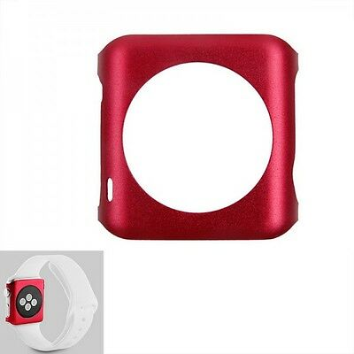 Premium Snap On Aluminium Backcase Red for Apple Watch 42 mm