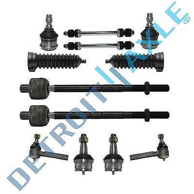 12pc Ball Joint Inner Outer Tierod Sway Bars Kit Ford Ranger **FITS 2WD ONLY**