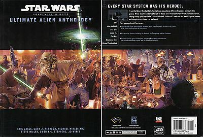 Star Wars-ULTIMATE ALIEN ANATHOLOGY-Roleplaying Game-Supplement-RPG-very rare