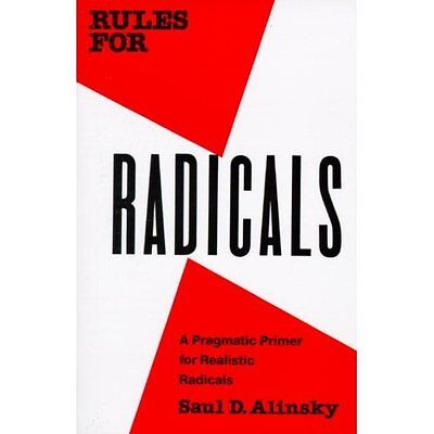 Rules for Radicals Saul David Alinsky Vintage Books PB / 9780679721130