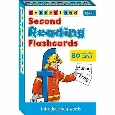 Second Reading Flashcards Wendon Letterland International Cards 9781862092280